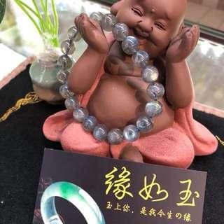 Labradorite bracelet (拉长石手链)