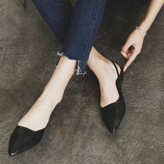 Grace For Days Pointed 2-Way Flats