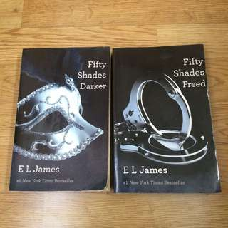 Fifty shades books 2 and/or 3