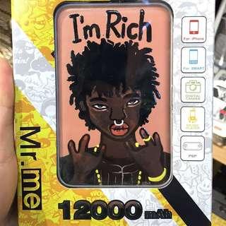 I'm Rich充電器12000mAh