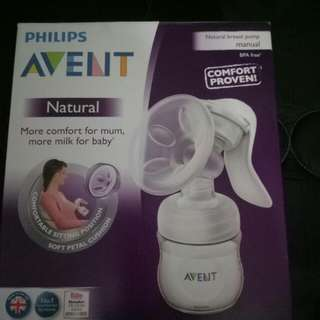 pompa manual avent