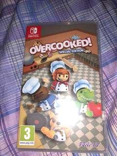 Used Nintendo Switch Game - Overcooked