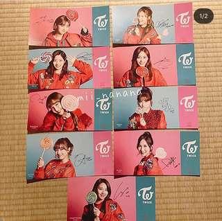 香港現貨!candypop🍭特典postcard 買成員set一套兩張送限定giftbox紙盒 淨碟通常盤30 團卡20 買碟+團卡50送海報