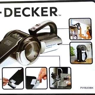 Black & Decker Dustbuster Pivot PV1820BK