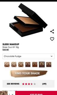 Sleek Make Up. BASE DUO KIT