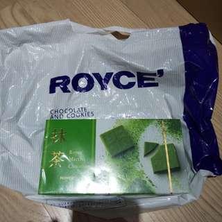 Royce抹茶朱古力