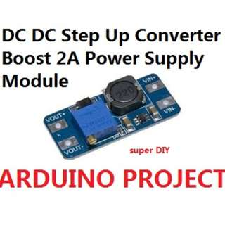 DC-DC Step Up Converter Boost Power Supply 2A Module