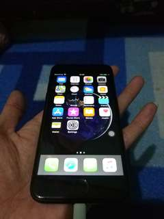Iphone 7 black 256gb mulus