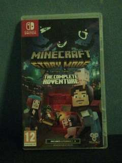 Minecraft story mode For Nintendo Switch