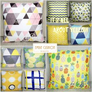 EMBIE CUSHION - Sarung Bantal - 40x40 cm - It's All Yellow