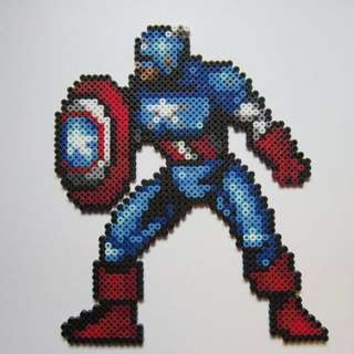 Captain America: Civil War Hama Designs