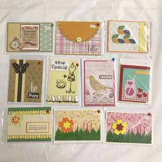 10 Handmade Cards