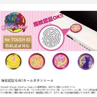 美少女戰士iPhone指紋識別按鍵貼