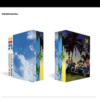 EXO The War Album + Poster Preorder