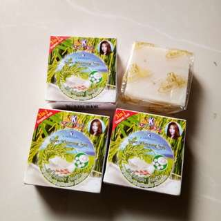 Sabun beras mutiara