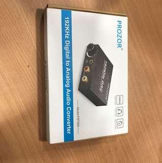 PROZOR 192KHz Digital to Analog Audio Converter
