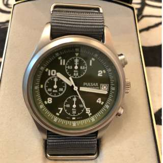 Pulsa  軍用計時石英錶