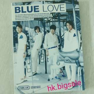[淨專] CNBLUE - Blue Love - $30