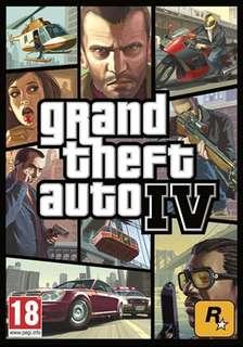 Grand Theft Auto IV Steam Code