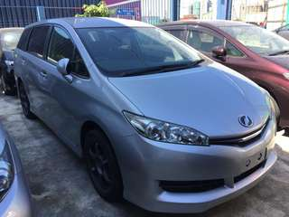 Toyota Wish 1.8 X-Pack  (unreg 2014)