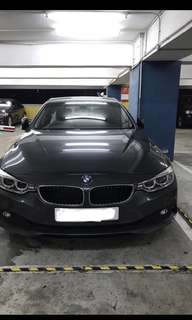BMW 425i July 2016 Dark Grey
