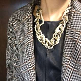 韓國vintage 珍珠頸鏈