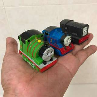 Thomas The Train: Percy, Diesel & Thomas