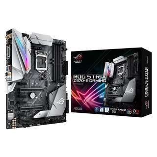 ASUS ROG STRIX Z370-E GAMING Motherboard with onboard WiFi