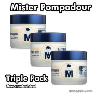 (Free mail) Mister Pompadour Triple Pack - Pomade Killer