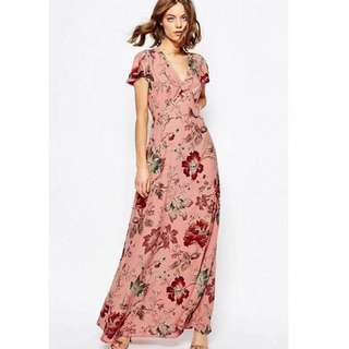 [OUT OF STOCK] Floral Maxi Dress