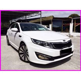 2013 Kia Optima 2.0 (A) K5 ORI CONDITION SUNROOF