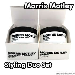 (Free mail) Morris Motley Styling Duo Set - Pomade Alternative