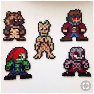Guardian Of The Galaxy Hama Designs