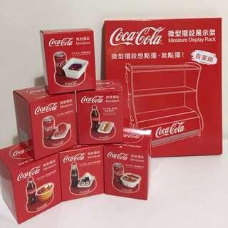 全新-可口可樂限量港式地道微型擺設