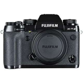 Fuji X-T2 body (Cheapest in Carousell with local 7 months warranty)