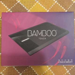 WACOM BAMBOO TOUCH 觸控板