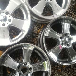 Nismo Sport Rims 18inchi Made in Japan