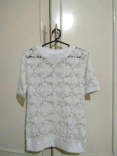 White Lace Top Japan (Riche Glamour)