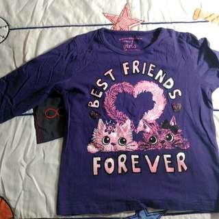 Long sleeve shirt (purple)