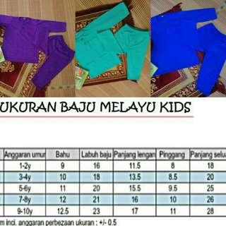 Baju Melayu Kids