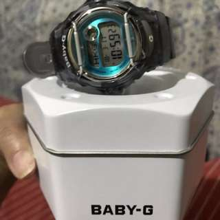 Casio Baby-G Grey Band Watch BG-169R-8BDR