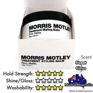 (Free mail) Morris Motley Treatment Styling Balm - Pomade Alternative