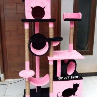 Cat condo,mainan kucing,cat scratcher