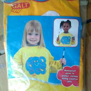 Paint apron for kids funtime