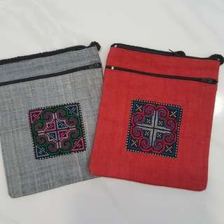 Ethnic Sling Pouch
