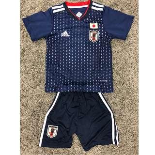 World Cup 2018_Japan Home Kids Jersey set