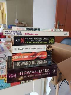 Novels (all for $10)