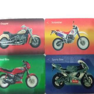Brand New Used Singapore Telecom Collectible Phone cards Vintage Car