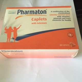 Pharmaton Caplets with Selenium - 60 Caplets