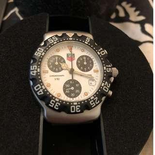 瑞士豪華一級方程式石英計時手錶